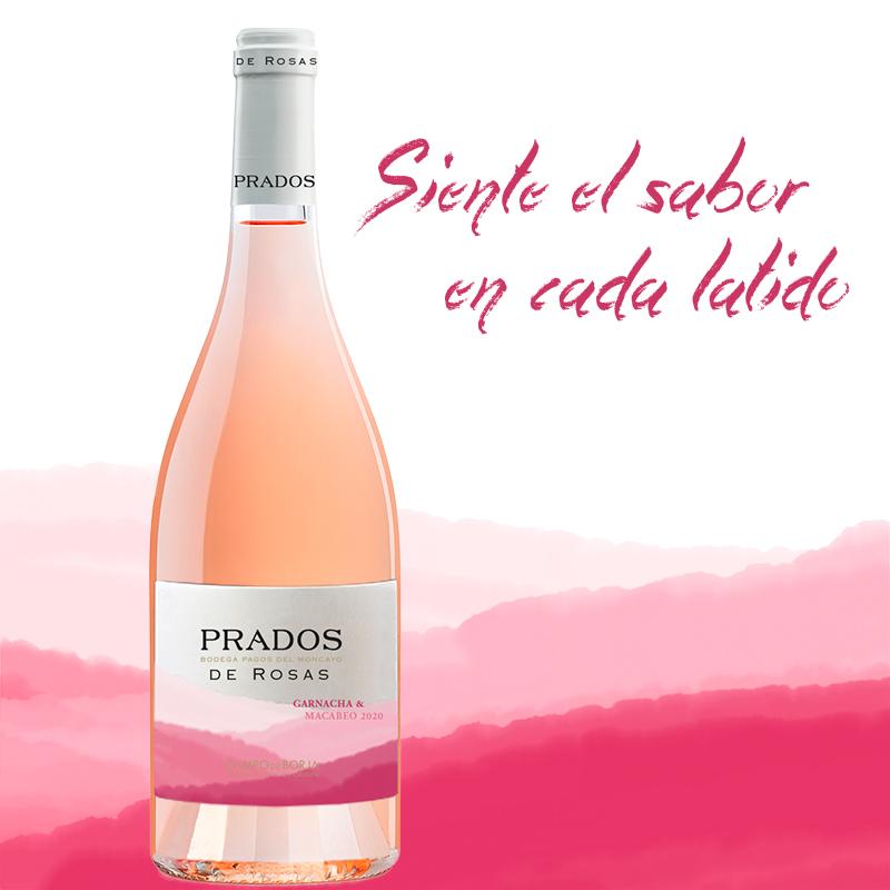 Prados de Rosas wine from Pagos del Moncayo
