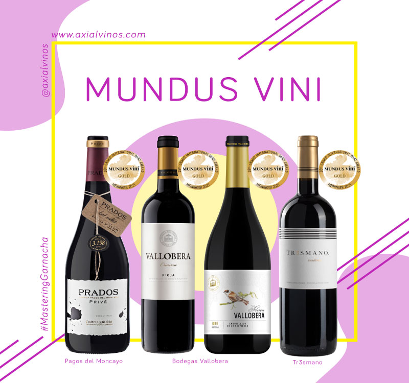 Gold Medal in Mundus Vini