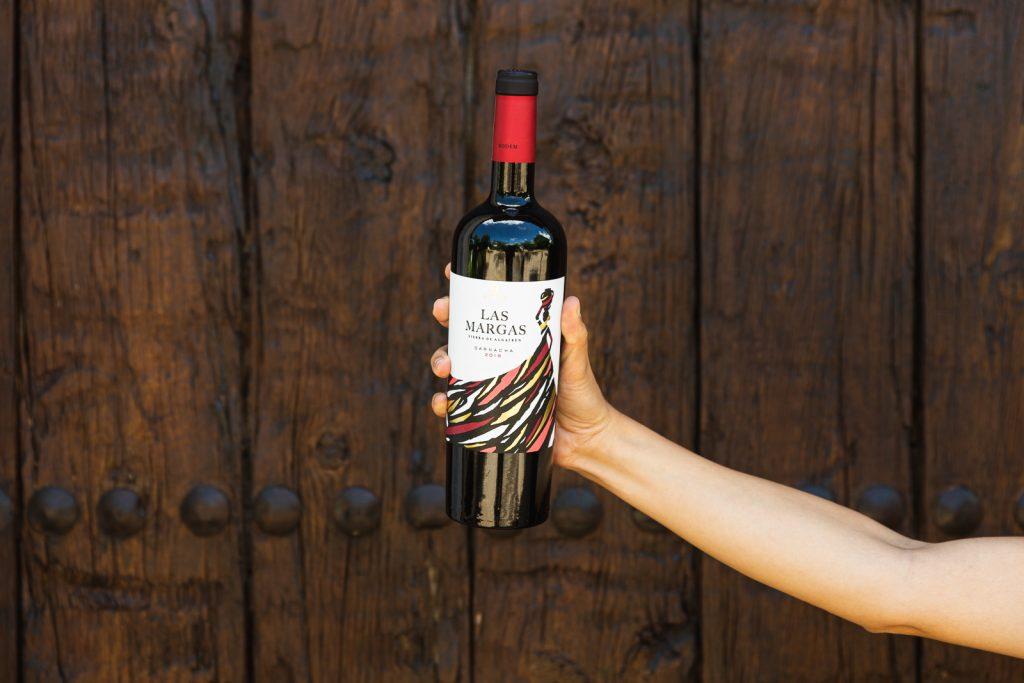 Las Margas red wine from Bodem Bodegas