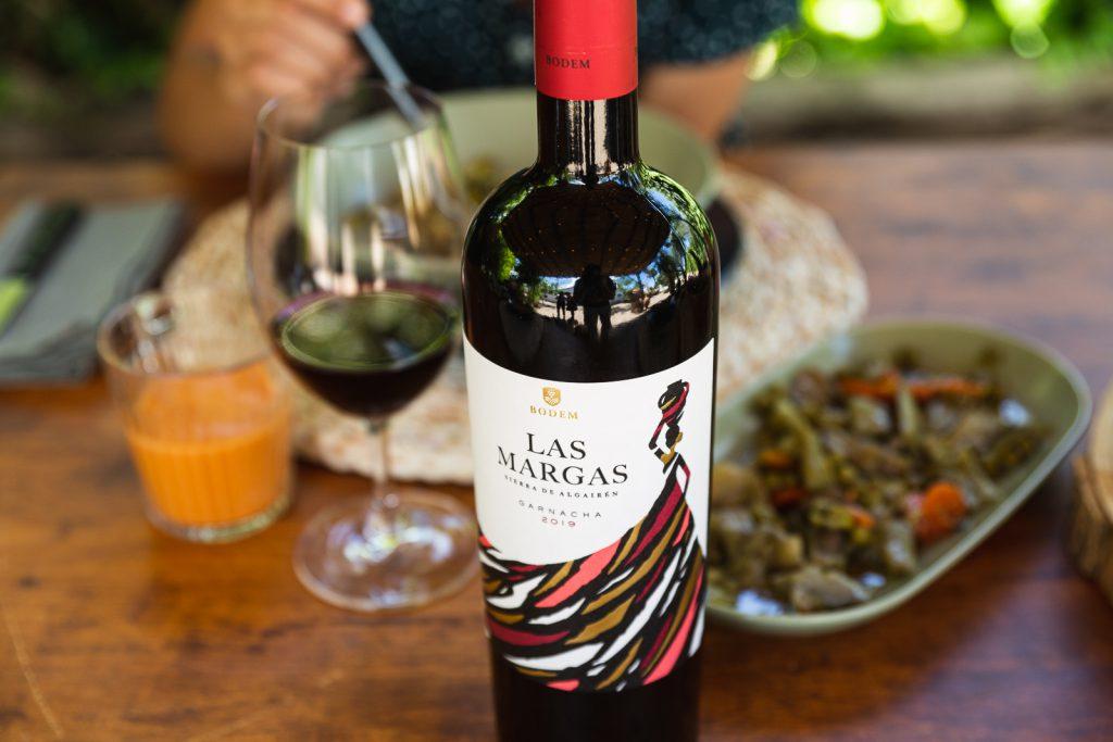 Las Margas Tinto bodem bodegas wine